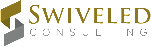 Swiveled logo